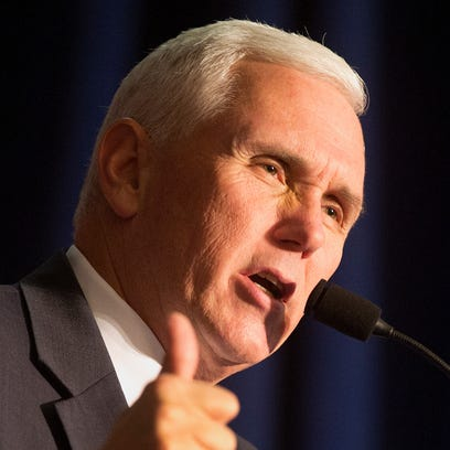 Republican vice presidential candidate and Indiana