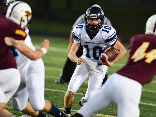 Council Bluffs freshman quarterback Max Duggan has thrown for 1,285 yards and 12 touchdowns without an interception this season.
