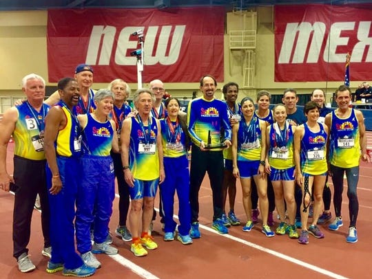 Eight El Pasoans brought home 20 medals at the USATF