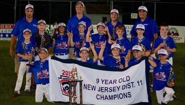 The North Wall Little League 9U AllStars won the District 11 Championships on July 1.