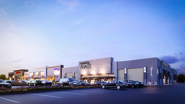 Poplar Commons, scheduled to be built by fall, is 57 percent  leased with the first tenants:  Nordstrom Rack, Ulta Beauty and LA Fitness