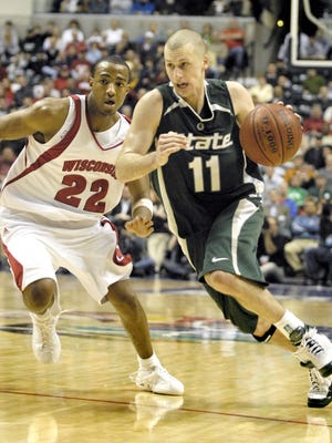 Drew Neitzel's 273 career 3-pointers are third all-time at MSU, behind Shawn Respert and Chris Hill, his 582 assists are fourth, behind Mateen Cleaves, Scott Skiles and Eric Snow. Photo Gallery
