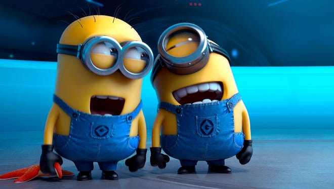 """Despicable Me 2"" will be shown at Stayton Elementary School on Jan. 25."