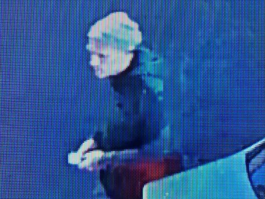 A photo of the burglary suspect who rammed into a Reno