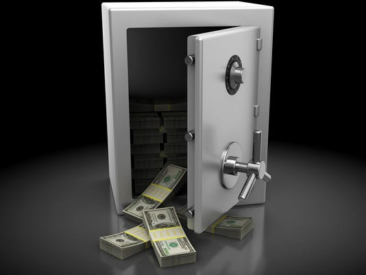 safe with money