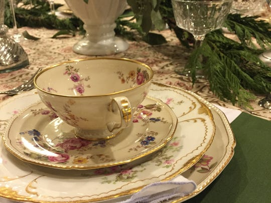 Your holiday party is a good reason to bring out your best china. Your guests will feel special. Don't be afraid to mix and match patterns.