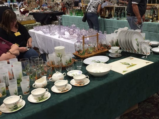 During the Phoenix Antiques, Bottles and Collectibles