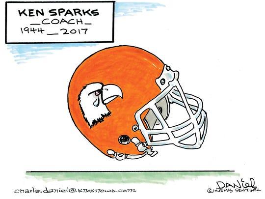 Charlie Daniel cartoon for March 31, 2017.