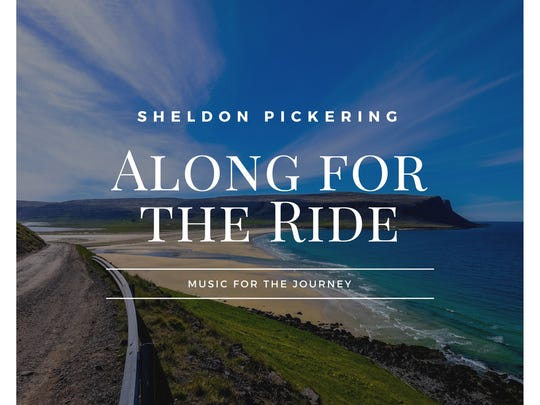"""Sheldon Pickering's """"Along for the Ride"""" was recorded in St. George, Utah, and features the talents of a host of Four Corners and Utah musicians."""