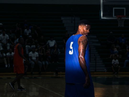 June 24, 2017 - Former University of Memphis basketball