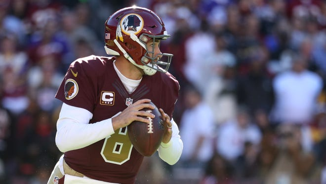 Quarterback Kirk Cousins has helped turn Washington around