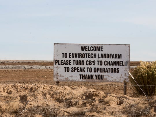 More than 60 truckloads of contaminated soil from Taos Ski Valley will be treated at the Evirotech land farm south of Bloomfield.