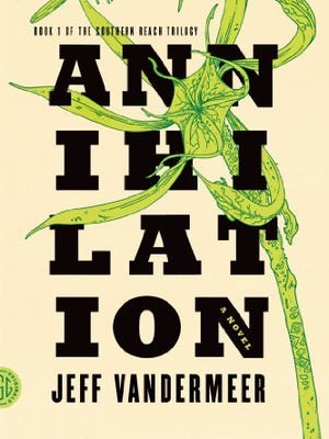 Jeff Vandermeer's sci-fi novel 'Annihilation' serves as the basis for the new movie, also starring Gina Rodriguez, Jennifer Jason Leigh and Tessa Thompson.