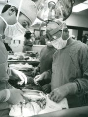 Doctors performed the first heart transplant at Jewish Hospital in August 1984.