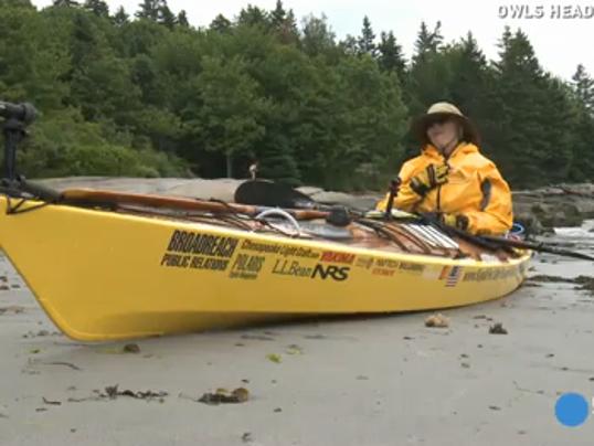 kayaking grandma