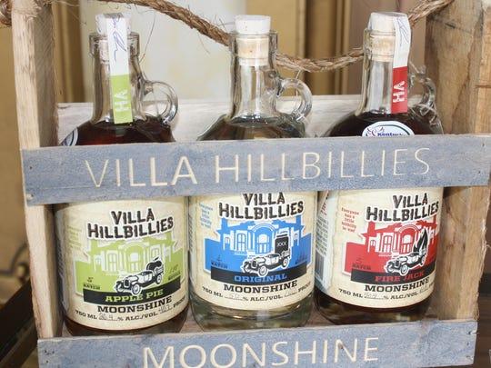 Villa Hillbillies Moonshine is sold throughout Northern Kentucky.