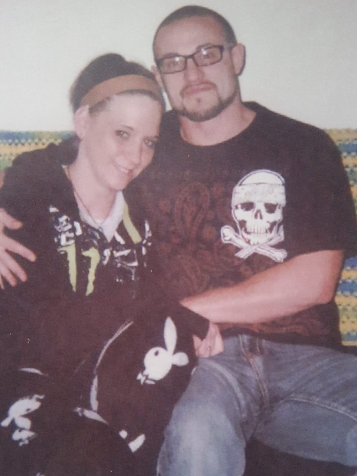 Kaytlin King (left) and Michael Speirs on Mother's Day in 2013. They had recently gotten back together, and Kaytlin was pregnant with their first child.