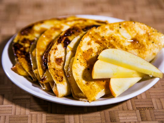 Chef Robin Miller has cooked up caramel apple quesadillas