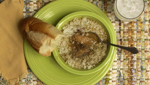 The gumbo Suzy Fleming Leonard learned to make while