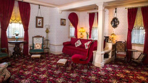 Walt's Apartment, the one-room residence for Walt Disney