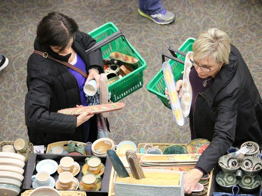 Organizers of the 42nd annual Potters Market say nearly 35,000 pieces of pottery will go on sale this weekend.
