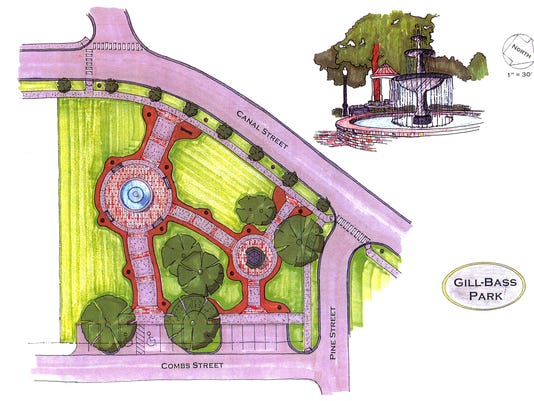 Gill Bass Park rendering