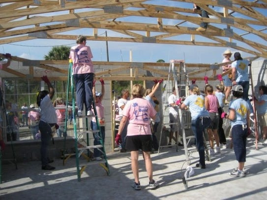 Women Build is a Habitat for Humanity program that