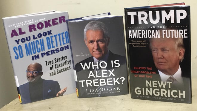 New nonfiction releases this week at the Port Jervis Free Library cover subjects from biographies to current events.