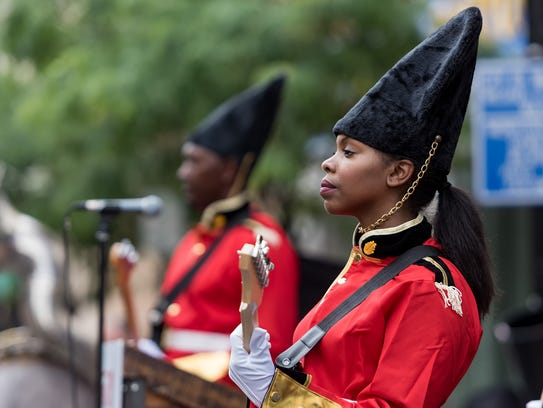 """A """"changing of the guard"""" ceremony by Live Nation was"""
