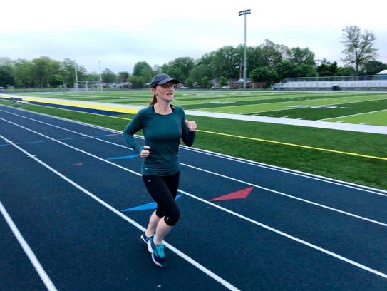 Erin Dawkins, the New Balance Runner of the Week.