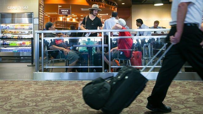 "Phoenix has eliminated the ""street pricing plus 10 percent"" cap on restaurants at Sky Harbor Airport."