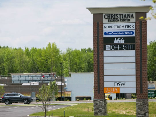The Christiana Fashion Center next to the Christiana. Christiana Marshalls Home Goods to open