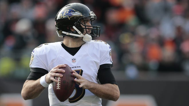 Baltimore Ravens quarterback Joe Flacco just started practicing in advance of the 2017 season opener against the Bengals.