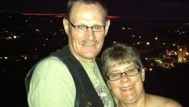 Diane Dibble was killed and her husband, Daryl, was injured in a motorcycle crash on June 27.