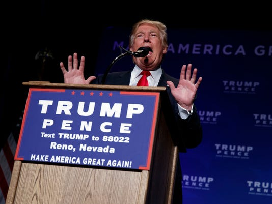 AP CAMPAIGN 2016 TRUMP A ELN USA NV