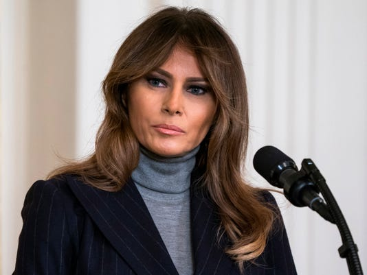 EPA (FILE) USA POLITICS MELANIA TRUMP POL GOVERNMENT USA DC