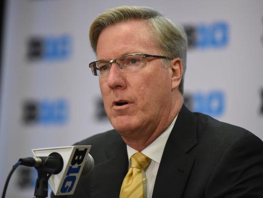 NCAA Basketball: Big Ten-Media Day