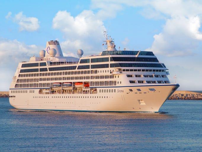 Originally built in 1999, the 684-passenger Sirena