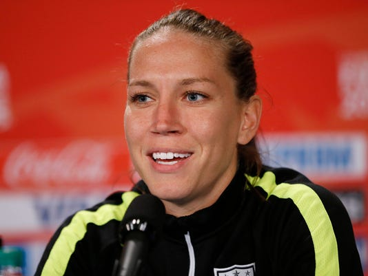Soccer: Women's World Cup-TrainingUSA