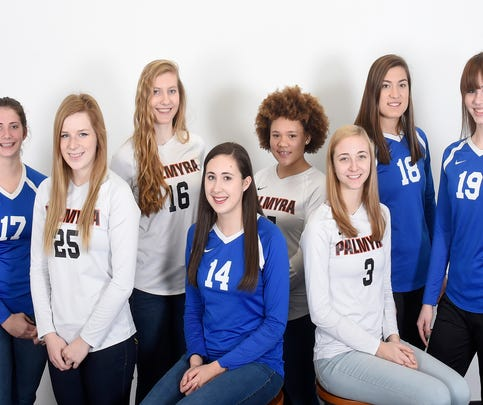 2016 All-Lebanon County Girls Volleyball Team