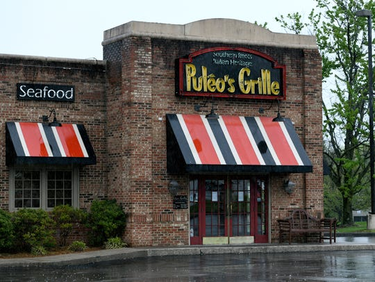 Puleo's Grille at Cedar Bluff Rd and Peters Road Monday,