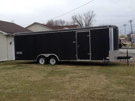 Haulmark trailer stolen from the 2400 block of Emittsburg