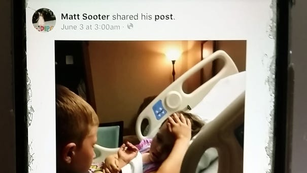 Matt Sooter of Rogers, Ark., snapped a picture of...