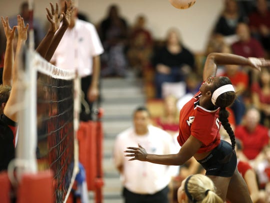 Leon senior Daijah Washington had a big week during three wins, amassing 28 kills, 13 digs and eight aces.