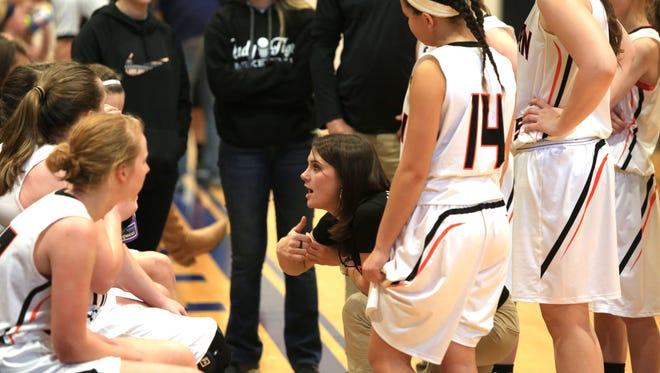Rosman girls basketball coach Ashton Hughes has resigned.