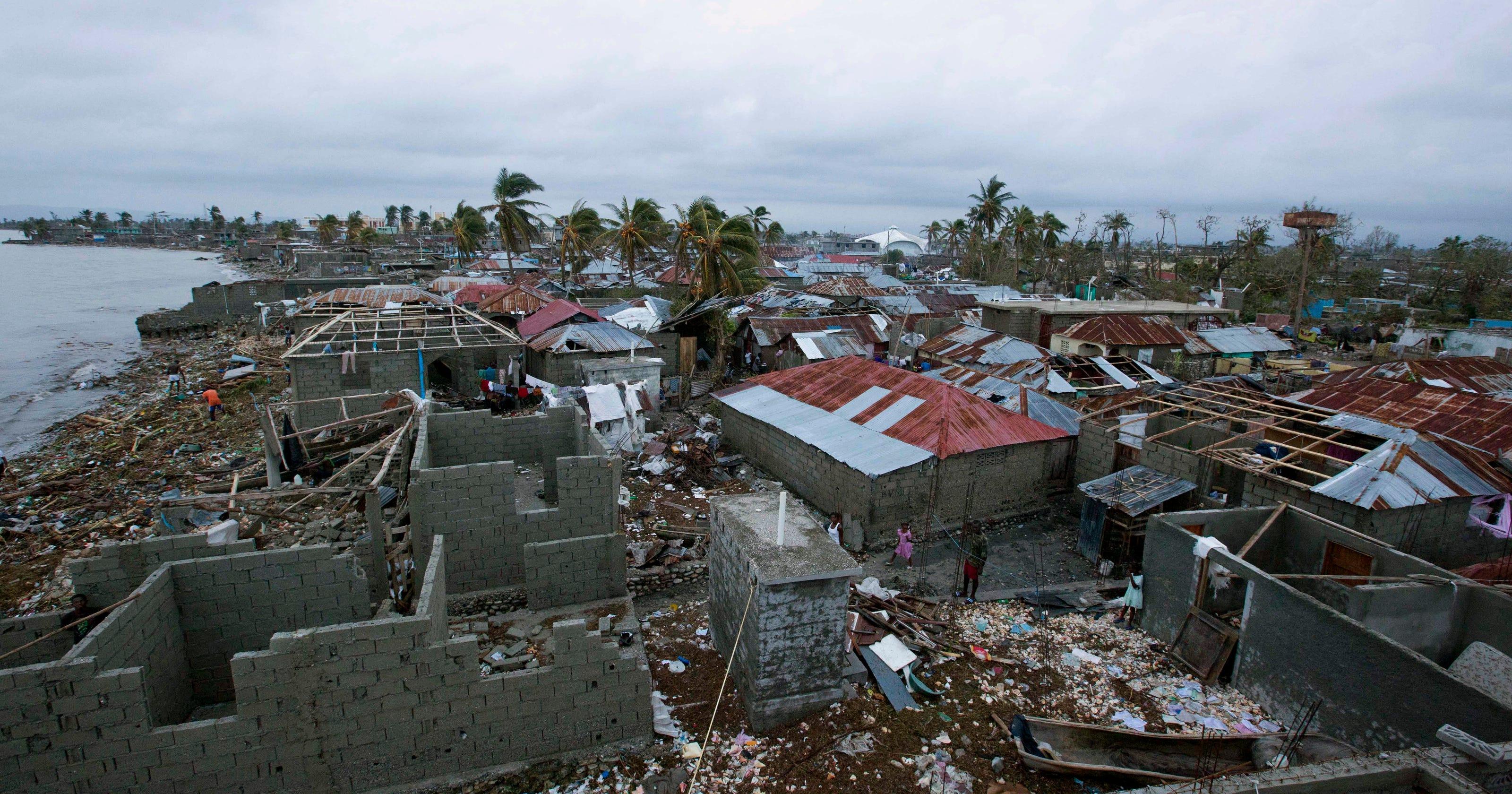 Haitian Officials Raise Death Toll From Hurricane Matthew To 283