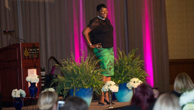 Wanda Durant spoke in Branson last week.