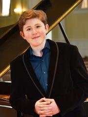 Pianist Gavin George returns to Firelands Presbyterian Church for a concert Sunday.