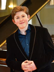 Pianist Gavin George returns to Firelands Presbyterian Church for a concert Sunday.