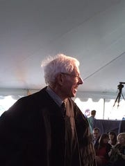 David Binch, honored with a doctorate Saturday at Champlain